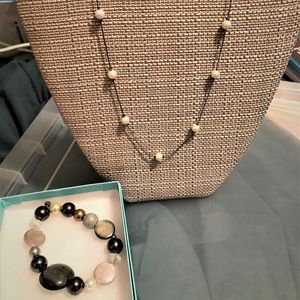 Necklace and Bracelet Combo